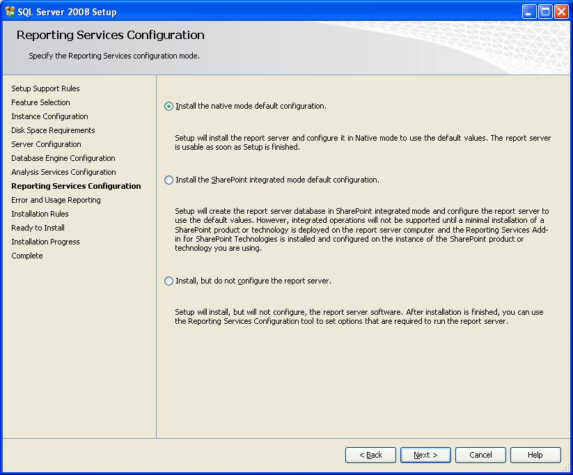 آموزش نصب sql server